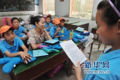 用青年温度回报美丽乡村:江苏18所高校大学生奔赴9省村小公益支教