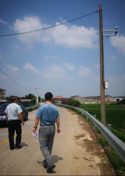 丹徒区公路处加强监控设施检查,确保路网信息畅通