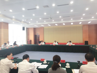中共镇江市委七届九次全会党群统战组分组讨论正热烈进行