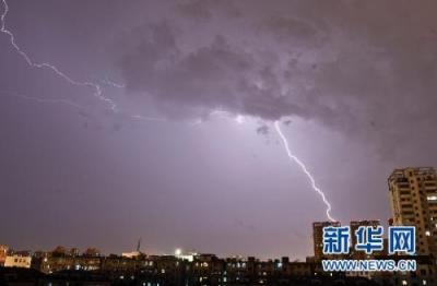 本周末江苏有强对流天气,外出当心雷电大风