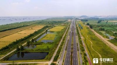沿岸造林多多的, 湿地修复杠杠的!长江大保护, 镇江很给力!