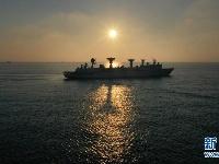远望3号船完成海上测控任务平安返航