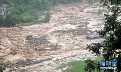 甘肃迭部发生泥石流,已致1人死亡3人失联