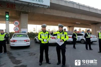 """三个""""一律""""严查严打10类交通违法行为 镇江公安交警严管交通力度再加大"""