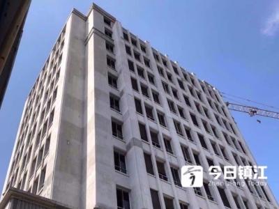 """南山路菜场即将C位出道!大楼露出了""""庐山真面目"""",预计八月底竣工验收"""