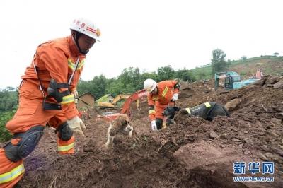 """贵州水城""""7·23""""特大山体滑坡已致13人死亡"""