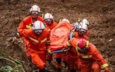 """贵州水城""""7·23""""特大山体滑坡最新进展:15人遇难,11人生还,仍有30人失联"""