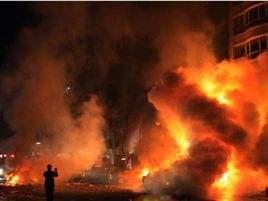 辽宁北票市一餐馆发生液化气爆炸,已造成4死16伤
