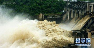 入汛以来有585条河流发生超警以上洪水