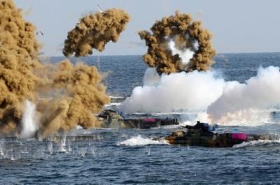 美官员称美韩军演不取消
