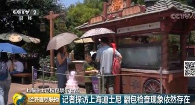 要进园,先搜包?央视记者探访上海迪士尼,结果......