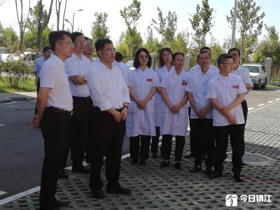 张叶飞率镇江市代表团赴四师可克达拉市考察 凝心聚力携手并肩 推动师市高质量发展