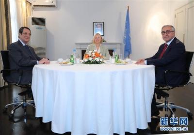 塞浦路斯希土两族领导人决定恢复统一谈判