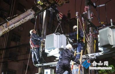 """镇江将""""利奇马""""灾害降至最低 修复9条供电故障,恢复12处受损通信设施"""