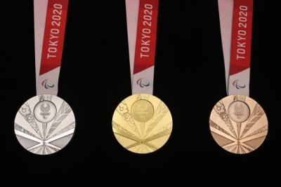 东京残奥会奖牌设计揭晓,金属全部来自于国民捐赠的电子垃圾