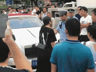 行拘5日!北京开劳斯莱斯堵医院急救通道女子被罚