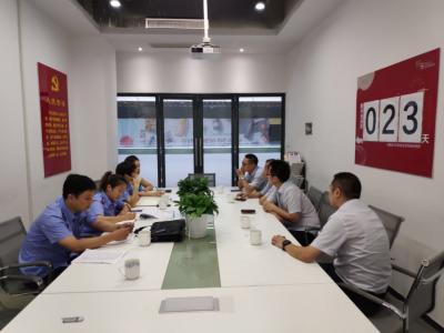 """润州区市监局采取""""双""""服务  做好星光时代广场项目开业前准备"""