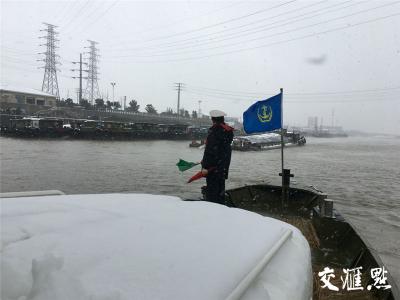 苏南运河镇江段解除封航 积压船舶安全有序离开