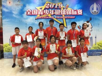 全国青少年毽球锦标赛 云林小将获两银两铜