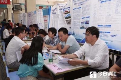 中国船舶重工集团公司携近200个岗位赴江科大揽才