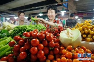 """8月江苏CPI同比上涨2.8%:肉类价格普涨,瓜果持续""""退烧"""""""