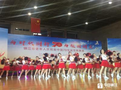 新中国成立70周年,镇江一群老年人用这种方式庆祝