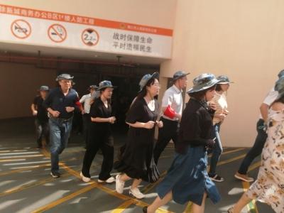 9·18,镇江上空防空警报长鸣 4万市民参加紧急疏散演练