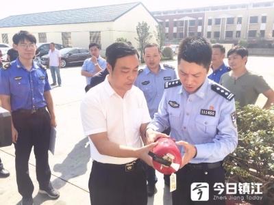 镇江新区开展渣土运输企业节前安全大检查
