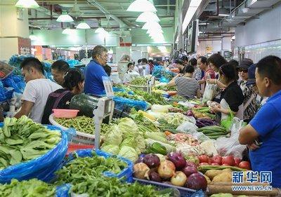8月份镇江居民消费价格同比上涨2.8%