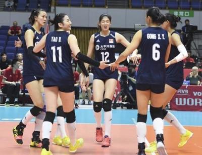8连胜!中国女排3:0击败肯尼亚,稳居积分榜第一位!