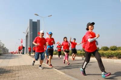 世界步行日,镇江500市民公益健身走