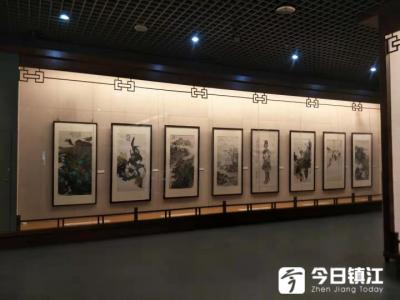 走!一起去市博物馆看书画展,这是中国画名家作品哦!