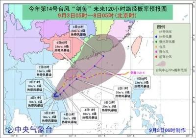 应急科普 | 台风蓝色预警 遇台风如何应急避灾?
