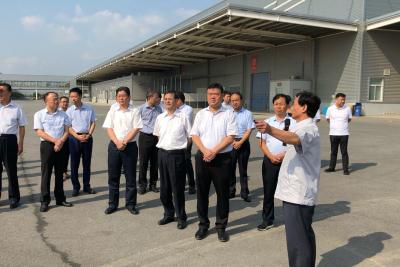 陕西渭南党政代表团来镇考察 推进对口协作工作再上新台阶