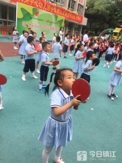乒乓球从娃娃抓起 镇江这次搞了个大动作