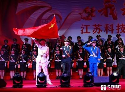 江科大师生激情合唱 向新中国成立70周年致敬