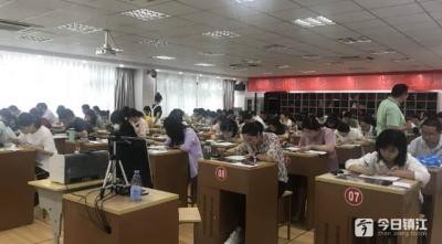 镇江举办首届统计业务技能大赛