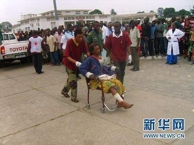 刚果(金)一火车脱轨至少50人死亡