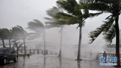 """台风""""米娜""""靠近浙江沿海 浙江提升防台风应急响应至Ⅱ级"""