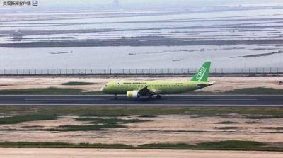 C919飞机104架机转场阎良:开展新阶段试验试飞任务
