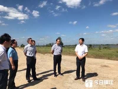 镇江市领导现场推进突出环境问题整改工作
