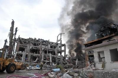 广西玉林陆川化工厂发生爆炸 已致4人死亡