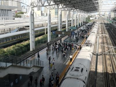 国庆黄金周  镇江铁路部门累计发送旅客45万人次