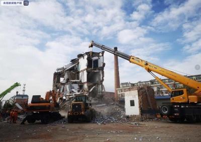 吉林白城市坍塌楼房搜救结束,确认5人遇难