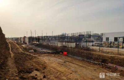 """服务重点项目 加强民生保障  镇江新区城建""""百日攻坚""""奋发作为"""