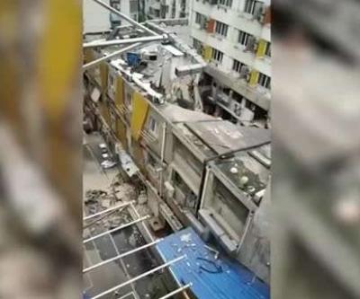 南京一建筑未经批准施工致局部坍塌 现场共5人已救出3人