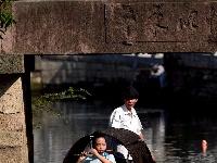 金秋牟山蟹满湖             ——长三角摄影记者采风活动走进余姚牟山