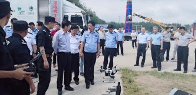2019长江音乐节即将开始  市领导率队检查安保工作