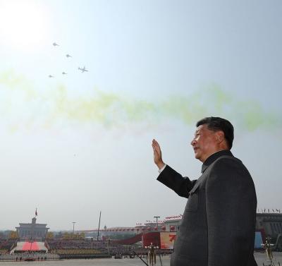 领航,号角催征新时代——习近平主席检阅共和国武装力量侧记