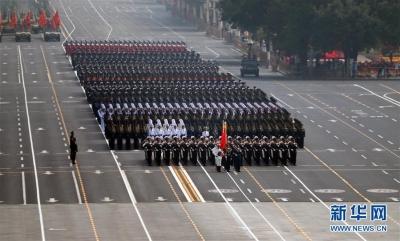 国庆受阅部队撤离归建
